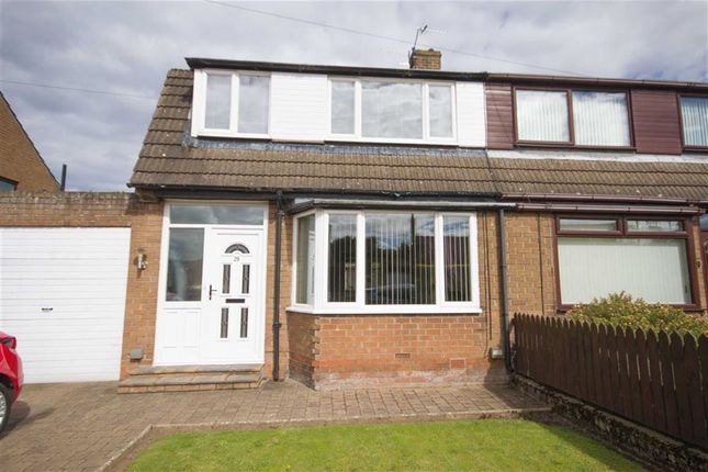 Thumbnail Semi-detached house for sale in Ladywell Road, Tweedmouth, Berwick Upon Tweed