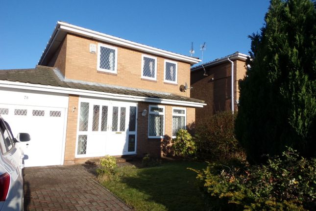 Thumbnail Detached house for sale in Underwood Grove, Cramlington