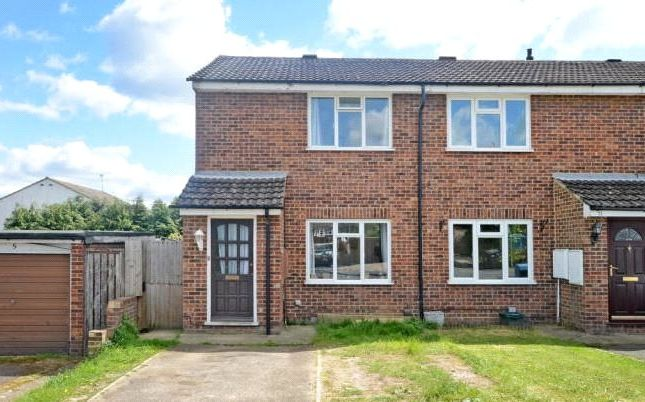 Thumbnail End Terrace House For Sale In Wordsworth Avenue Yateley Hampshire