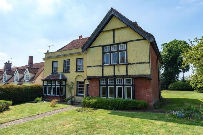Thumbnail Detached house for sale in The Green, Long Melford, Sudbury, Suffolk