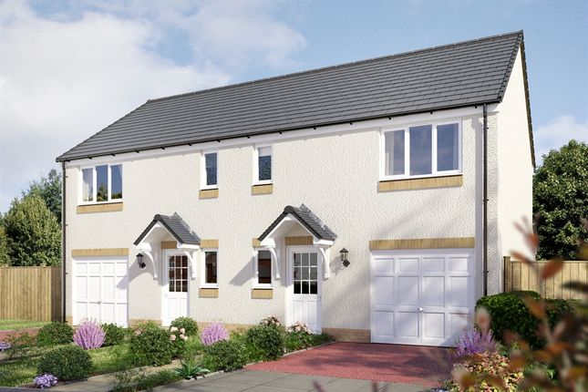 """Thumbnail Semi-detached house for sale in """"The Newton """" at Stable Gardens, Galashiels"""