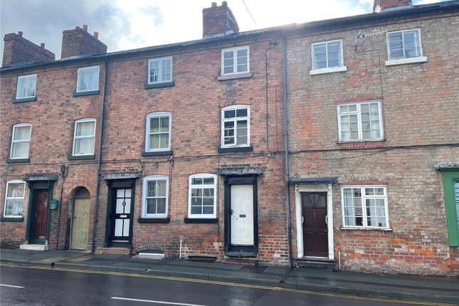 Thumbnail Terraced house for sale in Commercial Street, Newtown, Powys