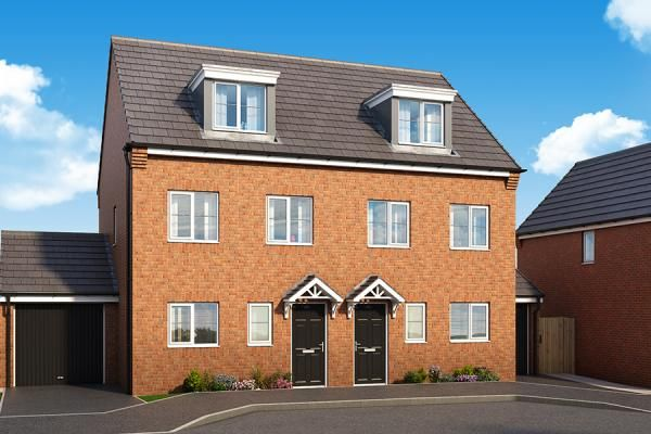 "Thumbnail Property for sale in ""The Sycamore At Woodland Mews"" at Manor Way, Peterlee"