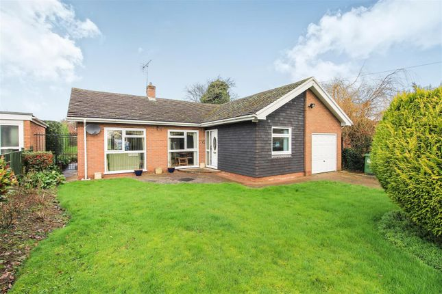 Thumbnail Detached bungalow for sale in Newlands Drive, Leominster