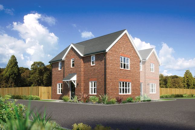 "Thumbnail End terrace house for sale in ""Castlewellan"" at Church Road, Warton, Preston"