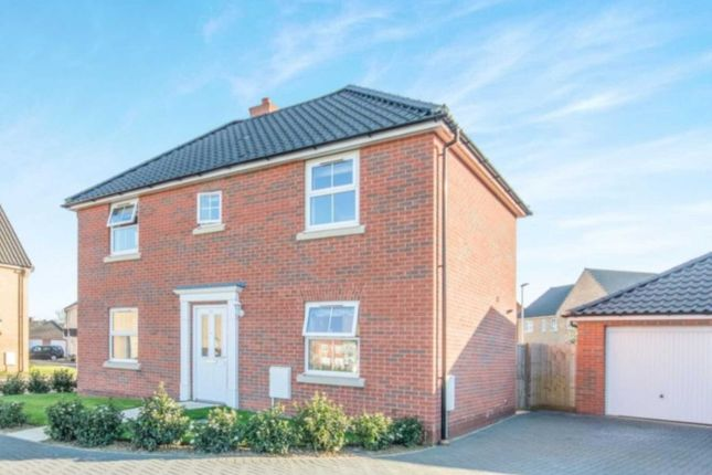 Thumbnail Detached house to rent in Maurecourt Drive, Brundall, Norwich