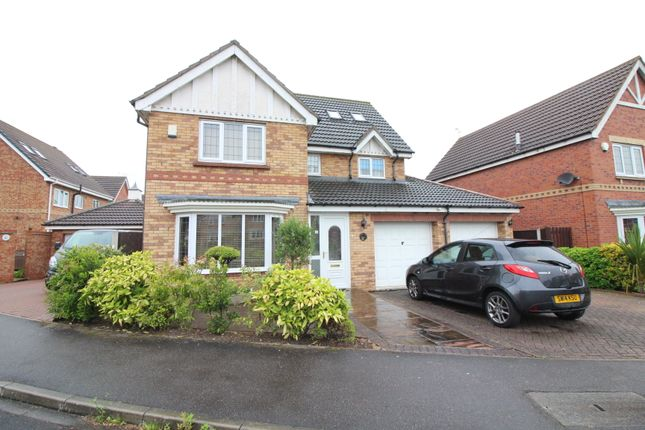 Thumbnail Detached house for sale in Shooters Hill Drive, Rossington, Doncaster