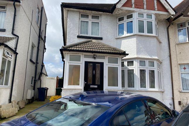 Thumbnail Semi-detached house to rent in Methuen Road, Edgware