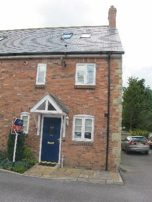 Thumbnail End terrace house to rent in Woodman Court, Coppice Street, Shaftesbury, Dorset