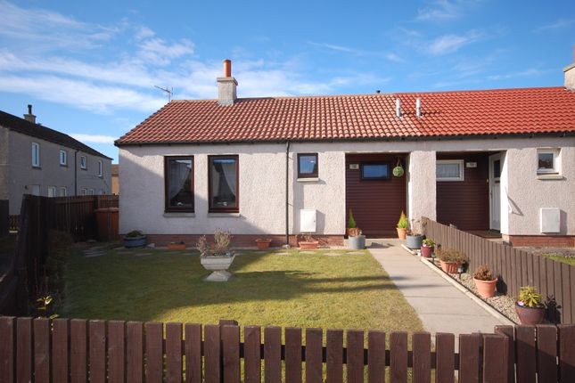 Thumbnail Terraced bungalow for sale in Forth Place, Lossiemouth