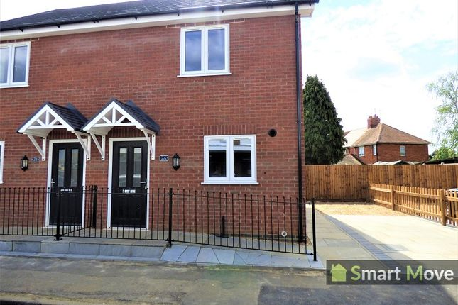 Thumbnail Semi-detached house to rent in Rycroft Avenue, Deeping St. James, Peterborough, Cambridgeshire.