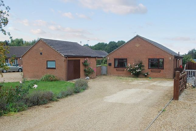 Thumbnail Detached bungalow for sale in Cross Road, Sutton St. Edmund, Spalding