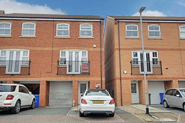 Thumbnail Semi-detached house for sale in Eastfield Court, Hessle