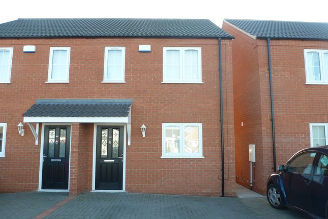 Thumbnail Semi-detached house to rent in Old Lynn Road, Wisbech