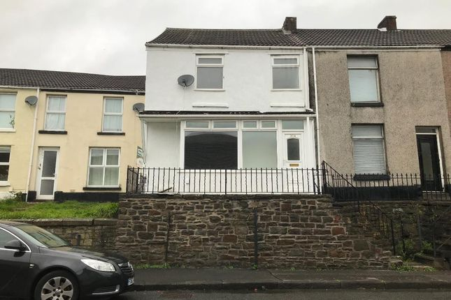 Thumbnail End terrace house to rent in Neath Road, Plasmarl, Swansea