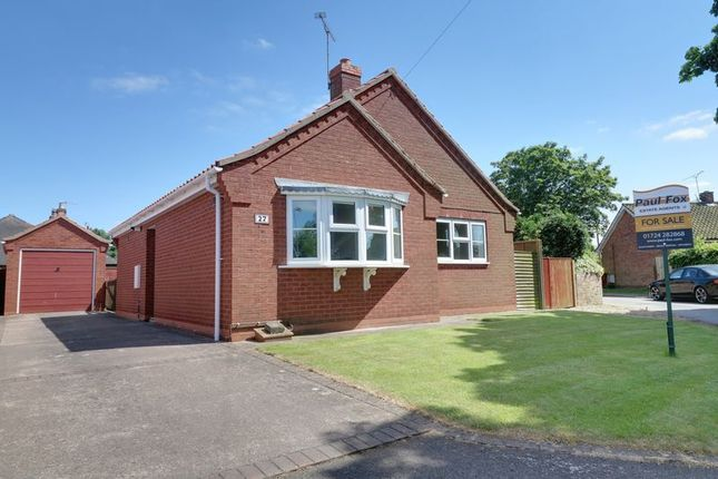 Thumbnail Detached bungalow for sale in Back Lane, Winteringham, Scunthorpe