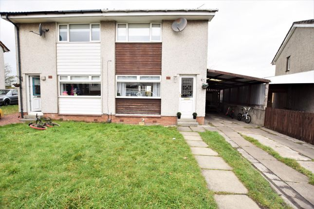 Thumbnail Semi-detached house for sale in St. Leonards Walk, Coatbridge