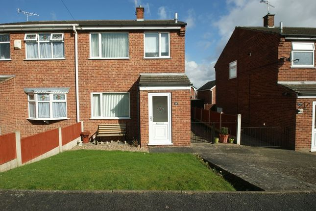 Thumbnail Semi-detached house to rent in Long Lane, Shirebrook, Mansfield