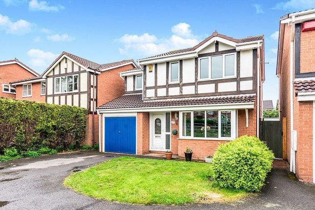 Thumbnail Detached house for sale in Hartley Close, The Rock, Telford