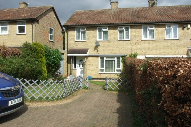 Thumbnail End terrace house for sale in Bedford Road, Letchworth Garden City