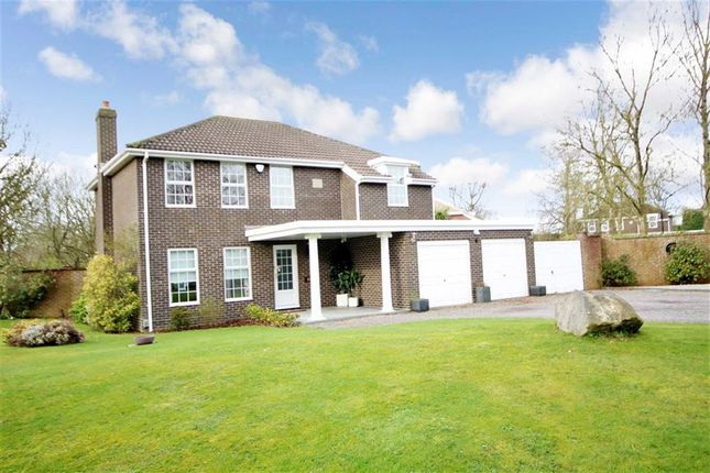 Thumbnail Detached house for sale in Leverton Gate, Broome Manor, Swindon