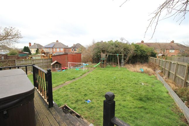Rear Garden of Edward Avenue, Chaddesden, Derby DE21