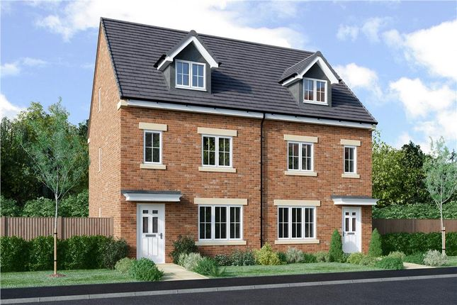"Thumbnail Semi-detached house for sale in ""Roeburn"" at Bryning Lane, Warton, Preston"
