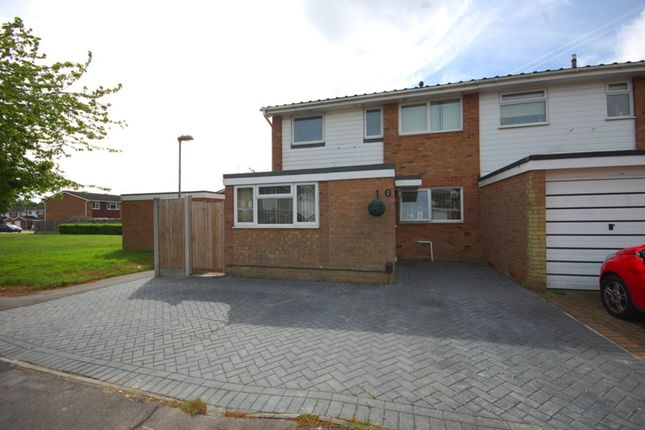 Thumbnail End terrace house for sale in Wallasea Gardens, Old Springfield, Chelmsford