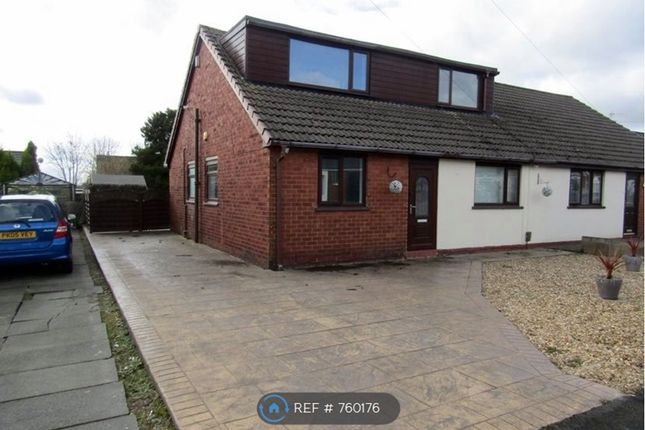 Thumbnail Bungalow to rent in Baron Walk, Little Lever, Bolton