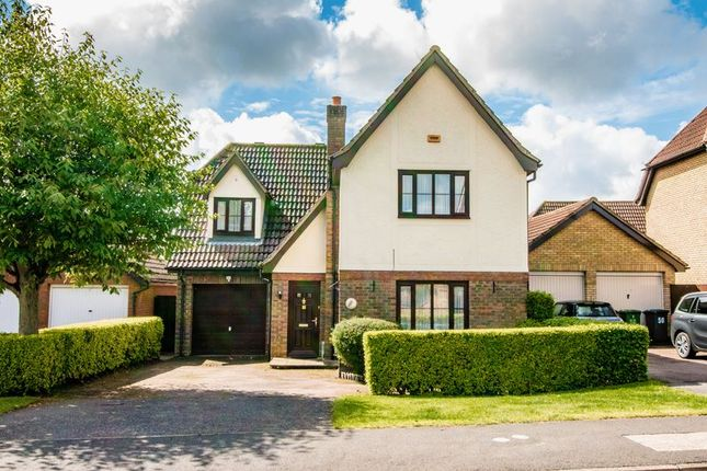 Thumbnail Detached house for sale in Owl Way, Hartford, Huntingdon, Cambridgeshire.
