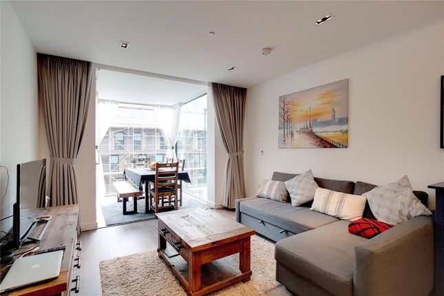 Thumbnail Flat for sale in Cashmere House, Goodmans Field, London