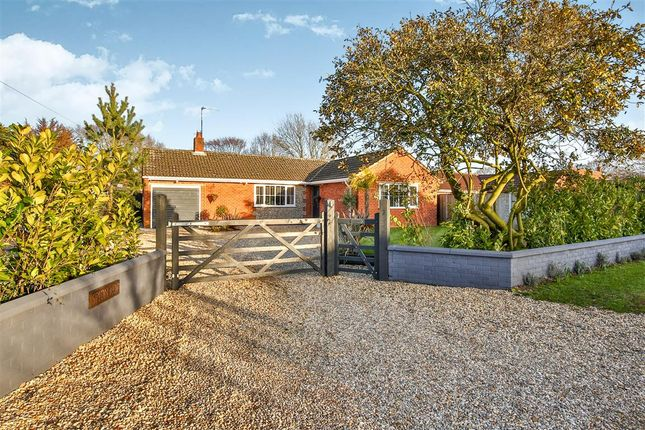 Thumbnail Detached bungalow for sale in The Street, Little Snoring, Fakenham