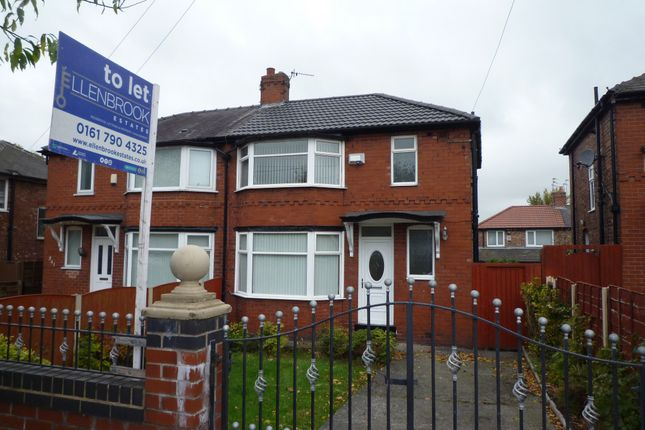 Thumbnail Semi-detached house to rent in Lancaster Road, Salford