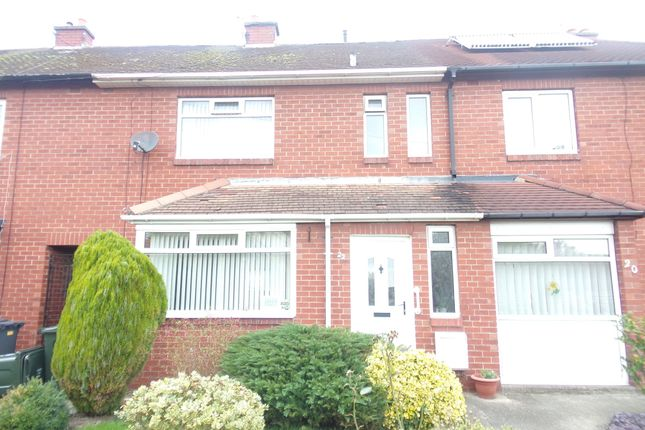 Thumbnail Terraced house for sale in Cauldwell Avenue, Whitley Bay