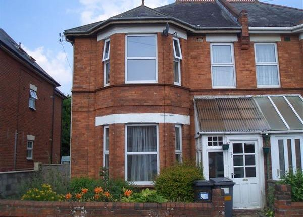 Thumbnail Semi Detached House To Rent In Richmond Park Road Bournemouth