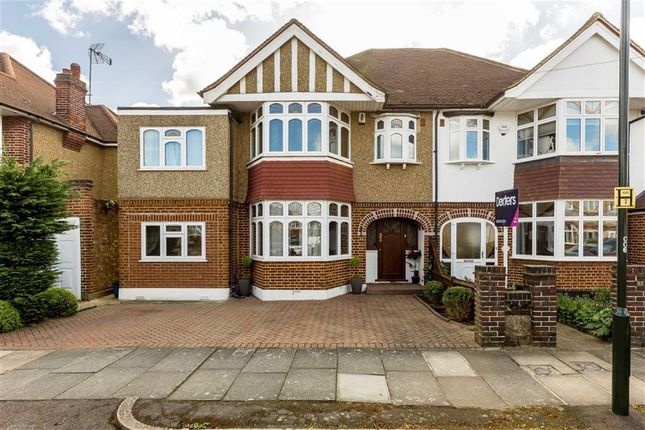 Thumbnail Semi-detached house for sale in Strathearn Avenue, Whitton, Twickenham