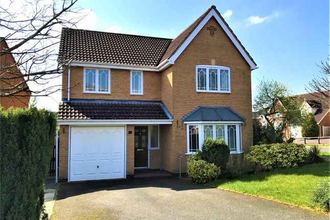Thumbnail Detached house to rent in Malvern Drive, Gonerby Hill Foot