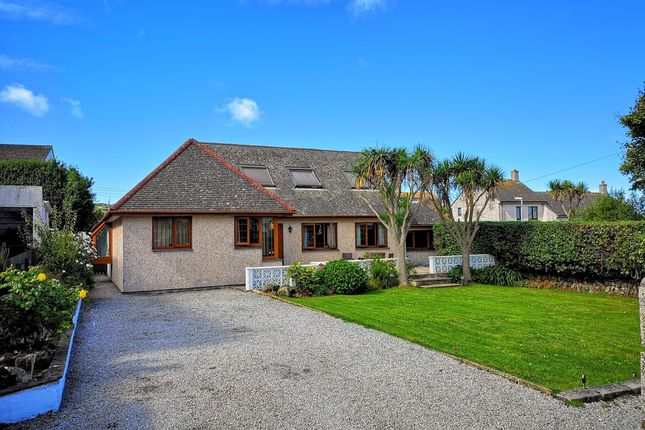 Thumbnail Detached bungalow for sale in Porthrepta Road, Carbis Bay, St. Ives