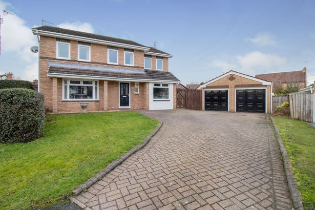 Thumbnail Detached house for sale in Acorn Bank Close, Crewe