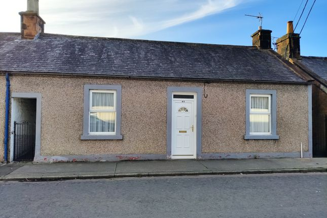 Thumbnail Terraced bungalow for sale in Queen Street, Lochmaben