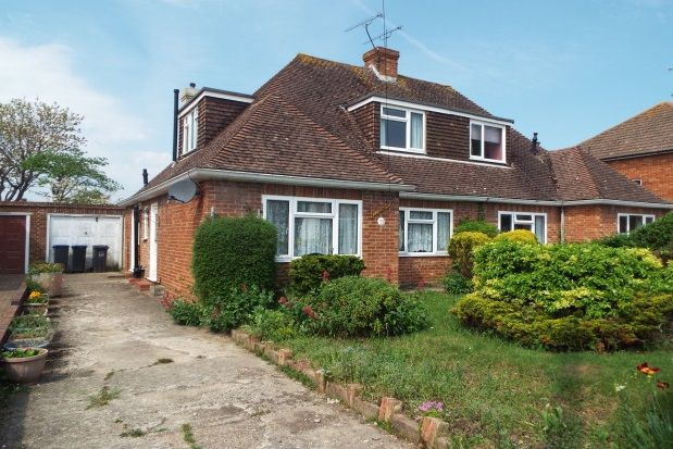Thumbnail Semi-detached bungalow to rent in Melrose Avenue, Worthing