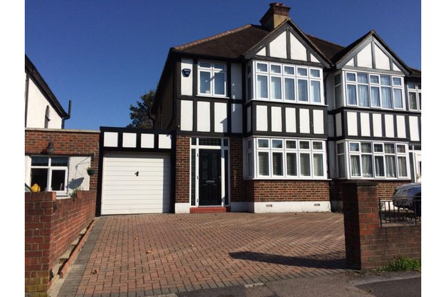 Thumbnail Semi-detached house for sale in Manor Road North, Wallington