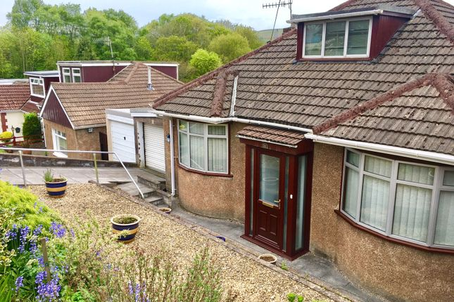 Thumbnail Detached bungalow for sale in The Walk, Ystrad Mynach, Hengoed