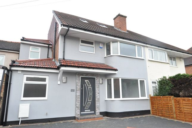 Thumbnail Semi-detached house for sale in Lindsworth Road, Kings Norton, Birmingham