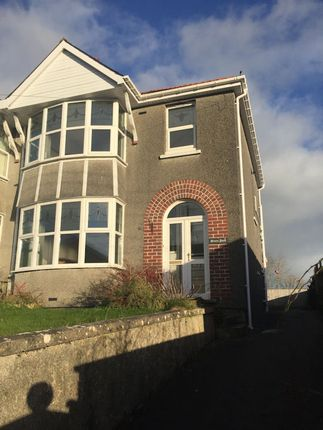 Thumbnail Semi-detached house to rent in North Road, Whitland