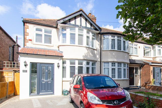 Thumbnail End terrace house to rent in Medway Drive, Greenford