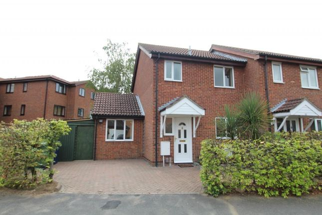 Thumbnail End terrace house to rent in Speedwell Close, Cambridge
