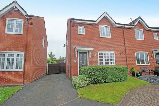 Thumbnail Semi-detached house for sale in Brotherston Drive, Blackburn