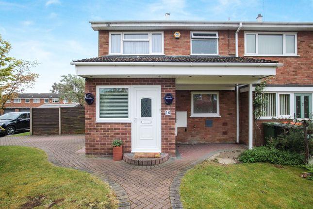 Thumbnail End terrace house for sale in Fenwick Road, Houghton Regis, Dunstable