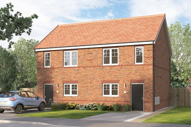 "Thumbnail Semi-detached house for sale in ""The Beckbridge Semi"" at Myton Green, Europa Way, Warwick"